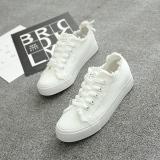 Jual Wild Tassel Student Flat White Shoes New Style Canvas Shoes Putih Sepatu Wanita Sepatu Sport Sepatu Sneakers Wanita Beier Original