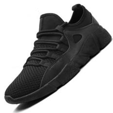 Running Shoes Cahaya Berat Mesh Olahraga Sepatu Jogging Sneakers Pria Outdoor Flat Berjalan Trend Sepatu Selling