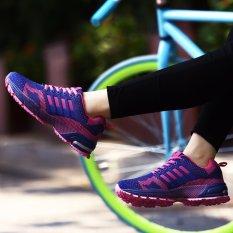 Jual Sepatu Lari Wanita Sneakers Casual Athletic Sepatu Ungu Intl Lengkap