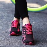 Sepatu Lari Wanita Sneakers Casual Athletic Sepatu Merah Intl Original