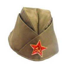 Harga Russian Army Cap Tricorne Green Camo Badge Women Sailor Military Stage Performance Dance Hats Chinese Boat Cap Intl Yg Bagus