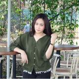 Beli Rx Colour Bohemian Top Army Cdc Lengkap