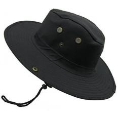 Vintage Pria Wanita Boonie Ember Topi Berburu Topi Matahari Musim ... 96db62332a