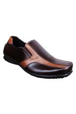 Harga S Van Decka Al01Bt Sepatu Formal Pria Coffee Olive S Van Decka Original