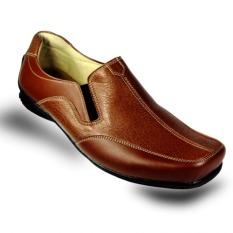 S. van Decka AL05C Sepatu Kasual Pria - Coklat