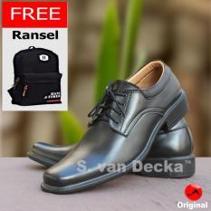 Toko S Van Decka R Xtk021 Sepatu Kasual Pria Hitam Gratis Tas Ransel Lengkap Di Jawa Barat