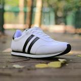 Spesifikasi S Van Decka Run2Ph Sepatu Kasual Pria Putih Hitam Beserta Harganya