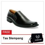Beli Barang S Van Decka Xtk026 Sepatu Formal Pria Hitam Free Tas Slempang Online