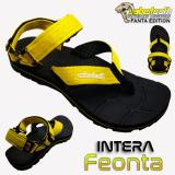 Harga Sabertooth Sandal Gunung Traventure Intera Feonta Size 32 S D 47 Hitam Tali Kuning Satu Set