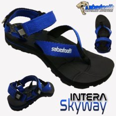 Harga Sabertooth Sandal Gunung Traventure Intera Skyway Size 32 S D 47 Hitam Tali Biru Yg Bagus