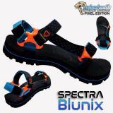 Review Toko Sabertooth Sandal Gunung Traventure Spectra Blunix Size 32 S D 47 Hitam Tali Titik Biru Pastel Online