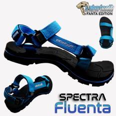 Dapatkan Segera Sabertooth Sandal Gunung Traventure Spectra Fluenta Size 32 S D 47 Hitam Tali Biru Muda