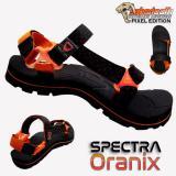 Promo Sabertooth Sandal Gunung Traventure Spectra Oranix Size 32 S D 47 Hitam Tali Titik Jingga Akhir Tahun