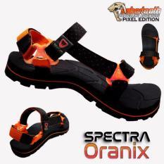 Beli Sabertooth Sandal Gunung Traventure Spectra Oranix Size 32 S D 47 Hitam Tali Titik Jingga Baru