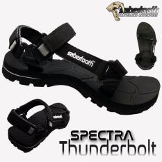 Spesifikasi Sabertooth Sandal Gunung Traventure Spectra Thunderbolt Size 32 S D 47 Hitam Baru