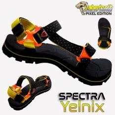 Toko Sabertooth Sandal Gunung Traventure Spectra Yelnix Size 32 S D 47 Hitam Tali Titik Kuning Online Terpercaya