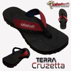 Toko Sabertooth Sandal Gunung Traventure Terra Cruzetta Size 32 S D 47 Hitam Tali Marun Yang Bisa Kredit
