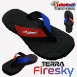 Cara Beli Sabertooth Sandal Gunung Traventure Terra Firesky Size 32 S D 47 Hitam Tali Merah Dan Biru
