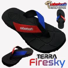 Spesifikasi Sabertooth Sandal Gunung Traventure Terra Firesky Size 32 S D 47 Hitam Tali Merah Dan Biru Murah