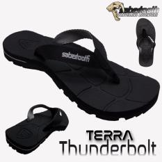 Review Terbaik Sabertooth Sandal Gunung Traventure Terra Thunderbolt Size 32 S D 47 Full Hitam