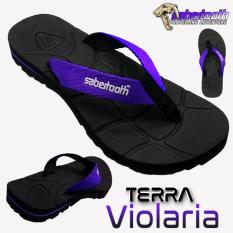 Ulasan Lengkap Sabertooth Sandal Gunung Traventure Terra Violaria Size 32 S D 47 Hitam Tali Ungu