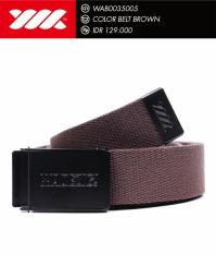 Sabuk WADEZIG- Belt WADEZIG- Color Belt Brown/Black