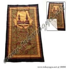 Sajadah Batik Sogan Souvenir Haji- Umroh Dan Lebaran