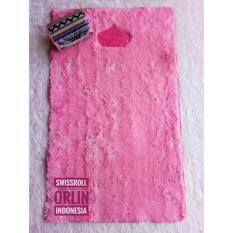 Sajadah Swissroll Orlin Warna Pink / Sajadah Bulu / Sajadah Empuk / Sajadah Busa / Sajadah Empuk / Sajadah Polos
