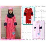 Toko Sale Baju Muslim Anak Perempuan Babyshark Termurah Online Terpercaya