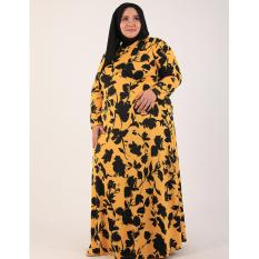 Sale !!! Baju Muslim Gamis Shedina Dress Big Size - Ready Ukuran Besar