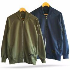 Rp 59.900. SALE ! Jaket Bomber Fleece // ArmyIDR59900
