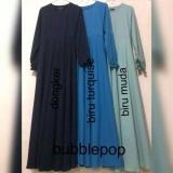 Promo Adzra Sale Promo Gamis Murah Gamis Wanita Busana Muslim Gamis Syar I Bubblepop Polos Premium Akhir Tahun