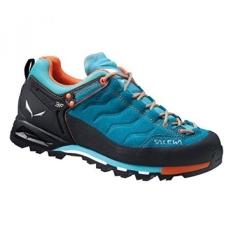 Salewa Womens WS MTN Trainer GTX Hiking Shoe, Venom/Tiger Lilly, US - intl