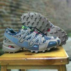 Salomon Spedcross Sepatu Olahraga Pria PREMIUM Army