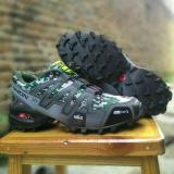 Jual Beli Salomon Spedcross Sepatu Olahraga Pria Premium Grey Army
