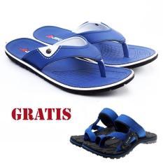 Salvo / fashion pria / sandal murah / sandal pria / sandal pria kulit / sandal pria casual / sandal pria dewasa / sandal gunung pria/ sandal jepit pria  JM17 free SG01