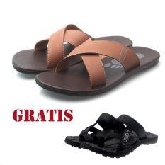Salvo / fashion pria / sandal / sandal flat / sandal pria / sandal gunung / sendal / sendal pria / sendal gunung / sandal pria kasual / sandal pria casual / sandal pria murah S02 GRATISSG01