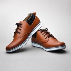 Salvo / fashion pria / sepatu / sepatu pria / flat shoes / flatshoes / sepatu casual / sepatu casual pria / sepatu cowo / sepatu cowok / sepatu flat / sepatu murah / sepatu pria casual / sepatu pria murah / sepatu sneakers / sepatu sneakers pria RK01-Tan