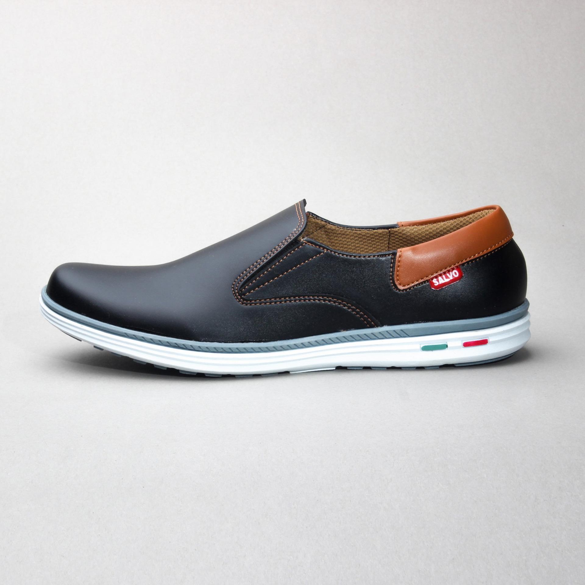 Fitur Salvo Sepatu Kets Sneakers Dan Kasual Pria Kanvas Sneaker