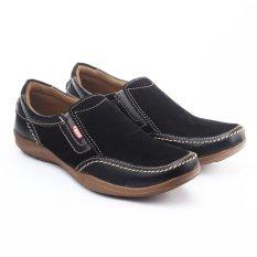 Salvo / fashion pria / sepatu / sepatu pria / flat shoes / flatshoes / sepatu casual / sepatu casual pria / sepatu cowo / sepatu cowok / sepatu flat / sepatu murah / sepatu pria casual / sepatu pria murah / sepatu pria slip on / slip on pria BK08-hitam