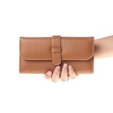 Salvora Salvora dompet / dompet wanita / dompet cewek/ dompet kulit / dompet murah / dompet kulit wanita / dompet panjang / dompet kecil / dompet cewe / dompet lipat /dompet lucu / dompet kartu SV21 tan