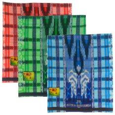 Samarinda Sutra 3pcs Sarung Tenun - Multicolor