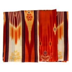 Samarinda Sutra Sarung Tenun - Kain - Sholat - Ibadah - Muslim - Coklat