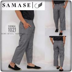 Beli Samase Samase Sirwal 1027 Kotak Abu Dengan Kartu Kredit