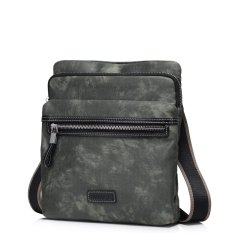 Harga Sammons Men Waterproof Nylon Leather Shoulder Messenger Cross Body Bag Flap Camouflage Sammons Ori
