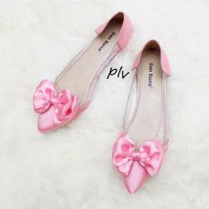 Jual Cepat San Dona Sepatu Wanita Flat Shoes Delia Pink