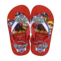Sandal Anak Flip Flop Paw Patrol Limited Edition Paw Patrol 19 Merah-R.Blue