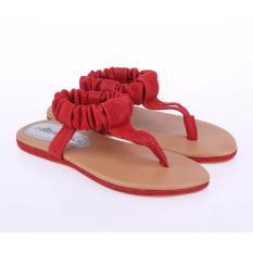Spesifikasi Sandal Anak Perempuan Catenzo Junior Cah 229 Merah Sintetis Beserta Harganya