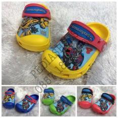 Sandal Crocs Anak Transformer 4 Clog Original (Grosir Dan Eceran) - Lk10uv