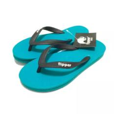 Sandal Fipper Slick - Sendal Jepit - Sendal Pantai Tosca Black - UK 9